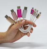 Cable de carga del mecanismo impulsor del flash del USB para el teléfono y el ordenador 8g 16g 32g 64G 128g