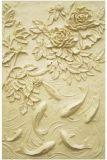 Tuiles de Relievo de mur de sculpture en grès de prix usine