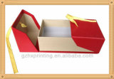 Embalaje de cosméticos de cartón con cinta de regalo caja de papel
