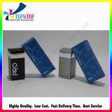 Caixa de cartão cosmética do papel revestido do projeto do OEM com o ponto UV