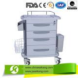 Trole/carro da medicina de Meical do hospital da alta qualidade para a estação da enfermeira