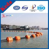 Qingzhou Kedaのカッターの吸引の浚渫船