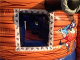 Barco inflable del pirata de la diapositiva de pirata de la diapositiva inflable de la nave