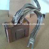 Escovas de carbono da grafita do metal das vendas para o motor de AC/DC (CM5H)