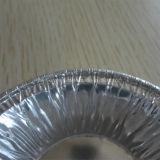 Cuvette au goût âpre ronde commode de papier d'aluminium de ménage