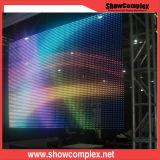 Pantalla de visualización al aire libre de LED de la cortina P18.75