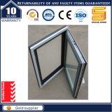 Guichet en aluminium de tissu pour rideaux avec le gril de garantie dans le type 50