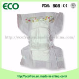 Un pañal disponible del bebé de la sensación del algodón del grado y de la alta absorbencia