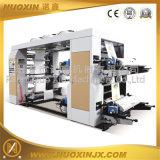 Máquina de cuatro colores PP / PET / PE Película / Papel de impresión flexográfica