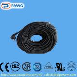 Pas de Beschikbare Ontijzelende Kabel van pvc aan Roof&Gutter (10m/160W)
