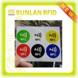 Nfc redondo Sticker, Nfc Label com Highquality