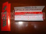 Tabaco de pegado automático que raja la maquinaria plegable del papel de balanceo del cigarrillo