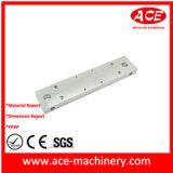 Giro do CNC do alumínio T6-6061