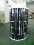 Изготовление панели солнечных батарей 150W Китая Semi гибкое
