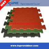 Telhas coloridas da migalha/telhas de borracha de Recyled/telhas resistentes da borracha de Recyled