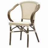 Оптовая продажа поставляет алюминиевое Textilene обедая стулы (TC-08005)