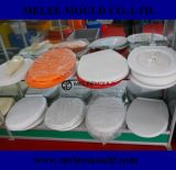 El molde plástico del asiento de tocador con fácil y cambia la bisagra