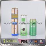Алюминиевые пустые чонсервные банкы упаковки аэрозоля для микстуры