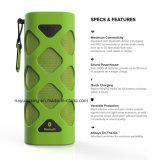Alto-falante Bluetooth portátil com microfone embutido (verde)
