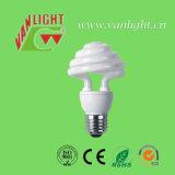 La fleur forme pouvoir 185W de lampe de lampes économiseuses d'énergie d'ampoules de CFL le grand
