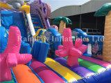 2016 New caldo Design Inflatable Sea World Slide da vendere