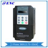 3배 단계 산출 0~ 600Hz 3.7kw 주파수 변환장치는, Eds800-4t0037g 5pH AC 모터 드라이브, 3.7kw 변하기 쉬운 주파수 몬다 VFD