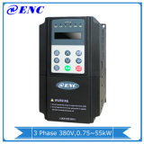 三重段階の出力380V 600Hz 3.7kw頻度インバーター、En600-4t0037g 5HP ACモーター駆動機構、Enc 3.7kwの可変的な頻度は運転するVFD