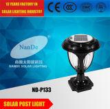 黒い高品質の太陽ポストライト