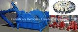 Hydro小さい(Water) PeltonのタービンGenerator Low Voltage 400V/HydropowerのタービンAlternator