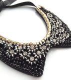 ラインストーンのダイヤモンド水晶カラーネックレスの方法宝石類