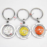 Promotion Gift (KR)のための合金Rotatable Volleyball Keyring