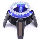 太陽動力を与えられた宝石類の電話腕時計360の回転LED表示立場