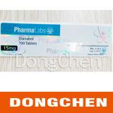 Kundenspezifische Drucken-Medizin, die Kennsatz der Phiole-10ml für Steroide verpackt