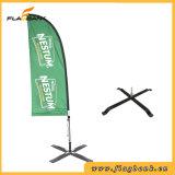 bandierina di spiaggia di alluminio di stampa di Digitahi di promozione di evento di 2.8m/bandierina della piuma