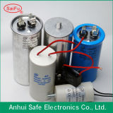 Oval Shape를 가진 알루미늄 AC Motor Starting Capacitor
