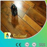 12.3mm Vinylhand rieb Ahornholz-Holz-Laminat-Bodenbelag