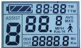Tela reflexiva do LCD do indicador do Tn dos medidores de potência