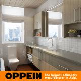Мебель плиты дома Шкаф-Самомоднейшего меламина кухни вся (OP15-HS10)