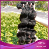 Trama frouxa do cabelo humano de Remy do Virgin da onda do Weave indiano super