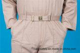 Vêtements de travail élevés de combinaison de Quolity de longue chemise bon marché du polyester 35%Cotton de la sûreté 65% (BLY1028)