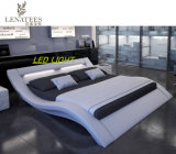 A516 낭만주의 가구 디자인 특대 LED 침대
