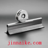 Pista d'acciaio del cancello di scivolamento (scanalatura di V)