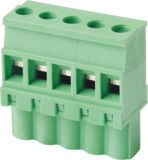 Conetor padrão do PWB do UL PA66/bloco terminal Pluggable (WJ2EDGKB-5.08)