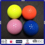 La Chine a fait la bille de golf colorée de bille de gamme