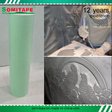 Plantilla estupenda del chorro de arena de la piedra del PVC del pegamento Sh3050 para las piedras conmemorativas que graban