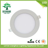 Rundes Square 3W 6W 9W 12W 18W 24W LED Panel Light mit CER RoHS