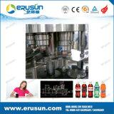 キャッピング機械を満たすペットびんによって炭酸塩化される飲み物