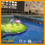 Os modelos orientais do cinema de Qingdao Wanda/os modelos de planeamento facilidades públicas/edifício de modelagem arquitectónico modelam modelos do fabricante/exposição