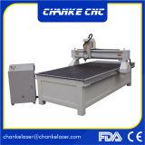 Máquina de madeira do router do CNC da fabricação da porta Ck1325
