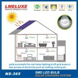 3W Rechargeable LED Sonnensystem Light für Home und Handy Charging Function
